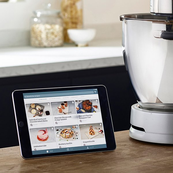 Controla la Cooking Chef XL desde la nueva aplicacion gratuita de Kenwood World