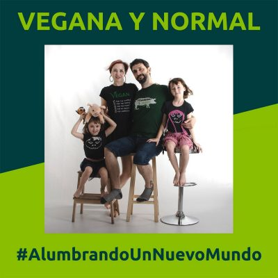 Portada del Podcast Vegana y Normal